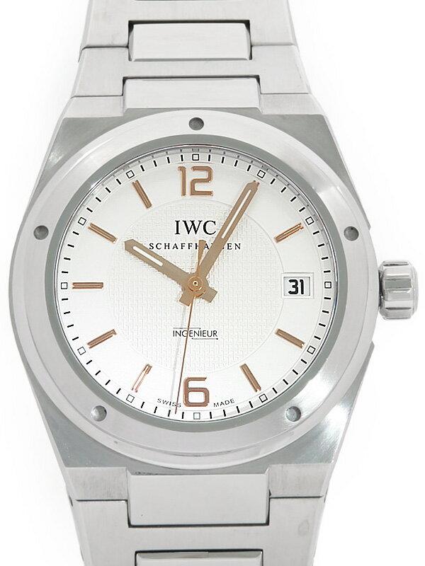 【IWC】【裏スケ】【インジュニア】インターナショナルウォッチカンパニー『インヂュニア』IW322801 メンズ 自動巻き 3ヶ月保証【中古】