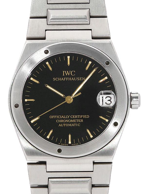 【IWC】【インジュニア】【内部点検済】 インターナショナルウォッチカンパニー『インヂュニア』IW352102 メンズ 自動巻き 3ヶ月保証【中古】