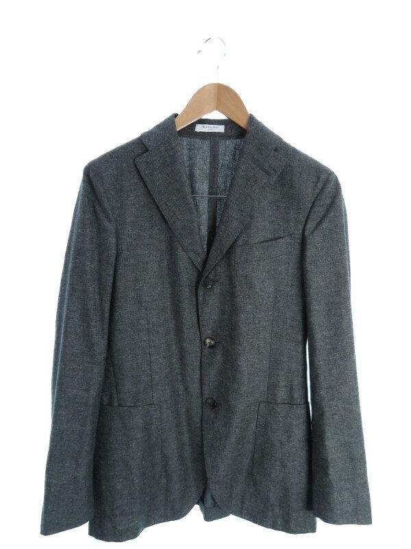 【BOGLIOLI】【イタリア製】【アウター】ボリオリ『テーラードジャケット size44』N2902E メンズ 1週間保証【中古】
