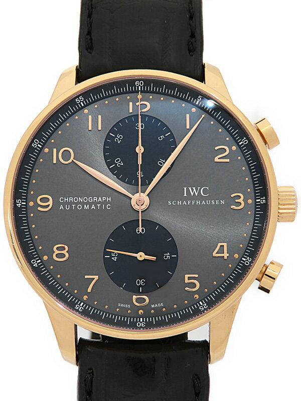 【IWC】インターナショナルウォッチカンパニー『ポルトギーゼ クロノグラフ』IW371482 メンズ 自動巻き 6ヶ月保証【中古】