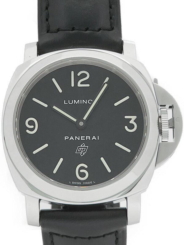 【PANERAI】パネライ『ルミノールベース ロゴ 44mm』PAM00000 N番'11年製 メンズ 手巻き 6ヶ月保証【中古】