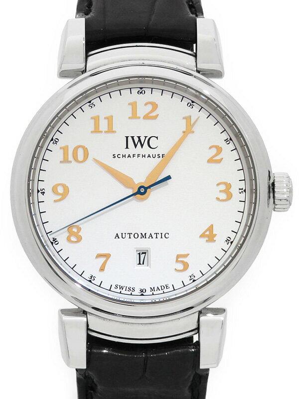 【IWC】【'18年購入】インターナショナルウォッチカンパニー『ダ ヴィンチ オートマティック』IW356601 メンズ 自動巻き 6ヶ月保証【中古】