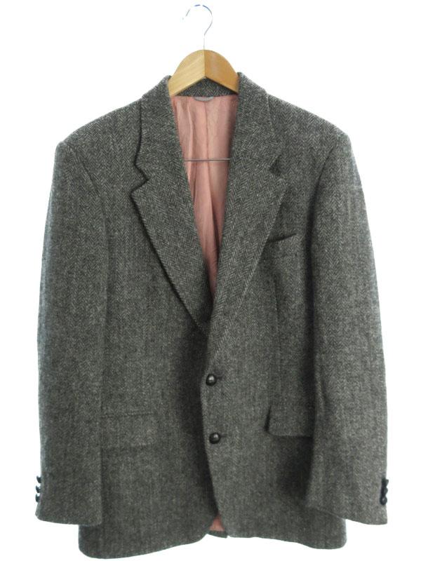 【Harris Tweed】【アウター】ハリスツイード『テーラードジャケット size40』メンズ 1週間保証【中古】