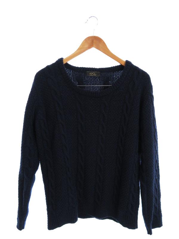 【GABRIELE PASINI】【イタリア製】【トップス】ガブリエレパジーニ『長袖ニット sizeS』メンズ セーター 1週間保証【中古】