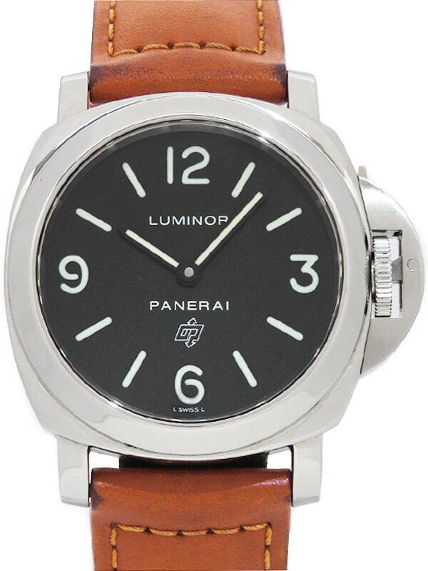 【PANERAI】パネライ『ルミノールベース ロゴ 44mm』PAM00000 G番'04年製 メンズ 手巻き 6ヶ月保証【中古】