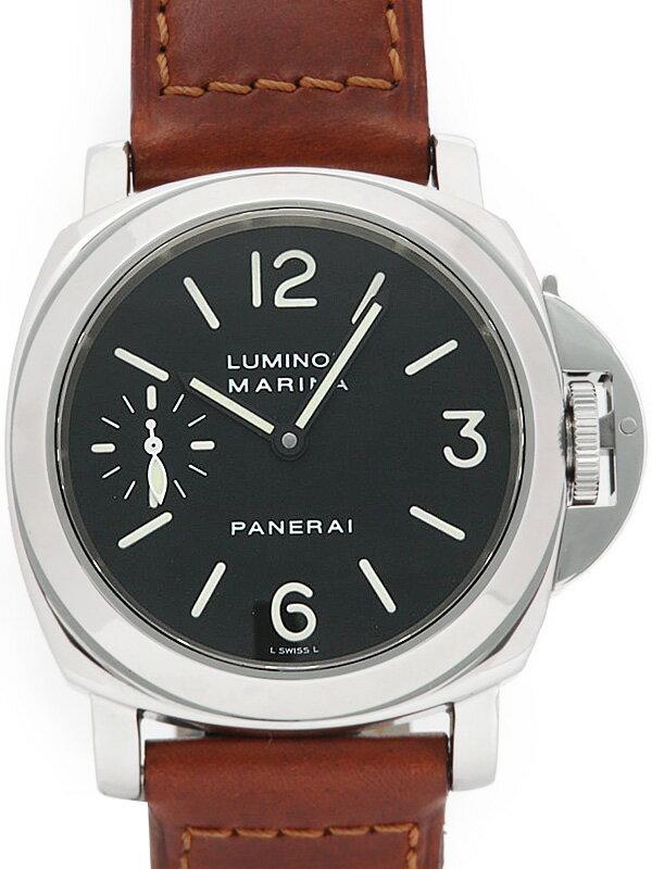 【PANERAI】パネライ『ルミノールマリーナ 44mm』PAM00001 C番'00年製 メンズ 手巻き 6ヶ月保証【中古】