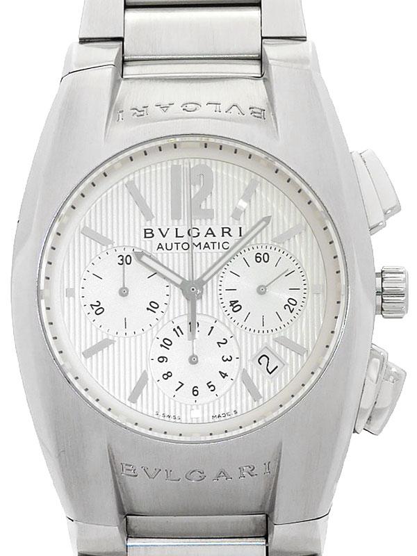 【BVLGARI】ブルガリ『エルゴン クロノグラフ』EG40SCH メンズ 自動巻き 3ヶ月保証【中古】