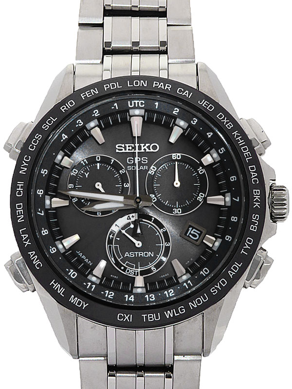 【SEIKO】セイコー『アストロン』SBXB003 8X82-0AB0 83****番 メンズ ソーラーGPS 3ヶ月保証【中古】
