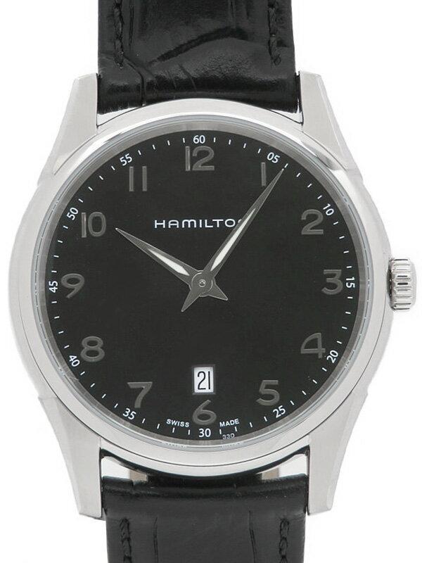 【HAMILTON】【'18年購入】ハミルトン『ジャズマスター シンライン』H38511733 メンズ クォーツ 1週間保証【中古】