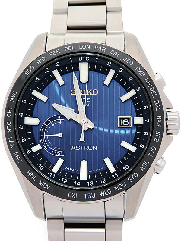 【SEIKO】セイコー『アストロン』SBXB159 8X22-0AL0 79****番 メンズ ソーラー電波GPS 3ヶ月保証【中古】