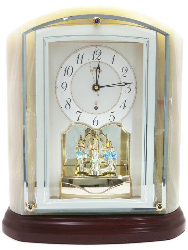 【SEIKO】セイコー『スタンダード 電波置時計』HW590M 1週間保証【中古】