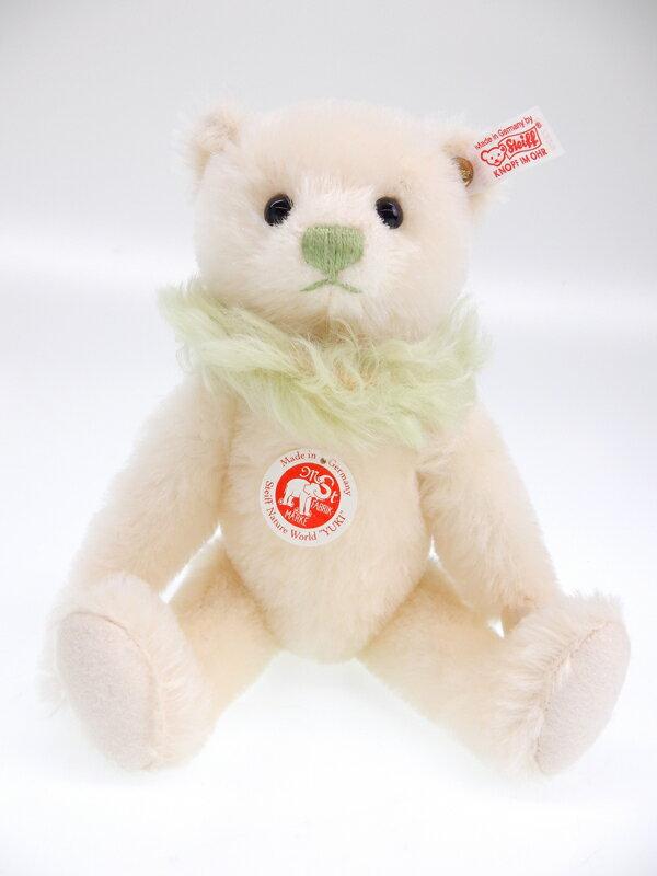 【Steiff】【ネイチャーワールド】【No.714/1000体限定】シュタイフ『YUKI TEDDY BEAR STEIFF NATURE WORLD テディベア 26cm』ぬいぐるみ 1週間保証【中古】