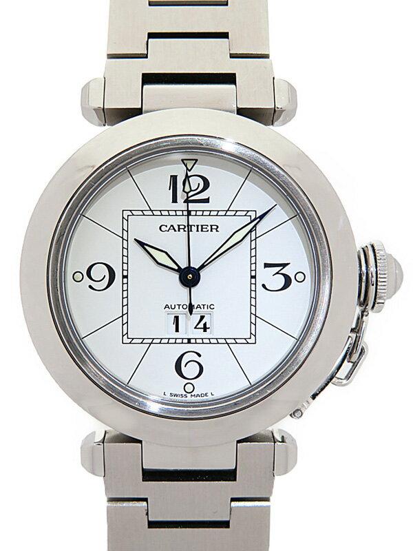 【Cartier】【内部点検済】カルティエ『パシャC ビックデイト』W31055M7 ボーイズ 自動巻き 3ヶ月保証【中古】