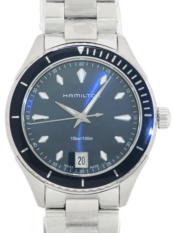 【HAMILTON】【美品】ハミルトン『シービュー 37mm』H37451141 ボーイズ クォーツ 1週間保証【中古】
