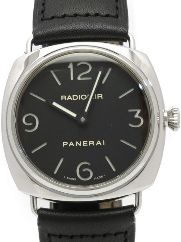 【PANERAI】【裏スケ】【OH済】パネライ『ラジオミール ベース 45mm』PAM00210 J番'07年製 メンズ 手巻き 6ヶ月保証【中古】