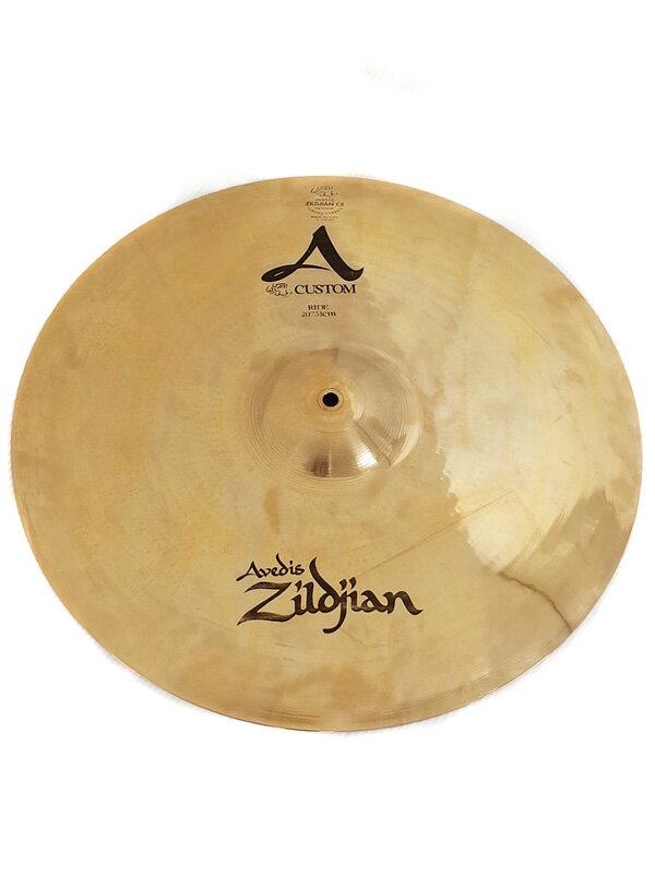 【Zildjian】ジルジャン『ライドシンバル』A Custom RIDE 20 1週間保証【中古】