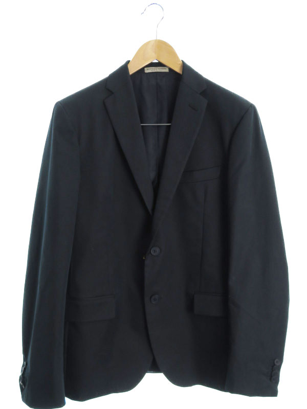 【BOTTEGA VENETA】【イタリア製】【上下セット】ボッテガヴェネタ『スーツ size上48 下46』メンズ セットアップ 1週間保証【中古】