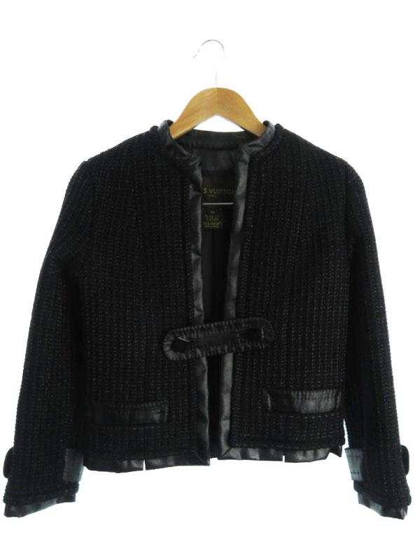 【Louis Vuitton】【フランス製】【2ピース】ルイヴィトン『ジャケット スカート 上下セット size34』レディース セットアップ 1週間保証【中古】