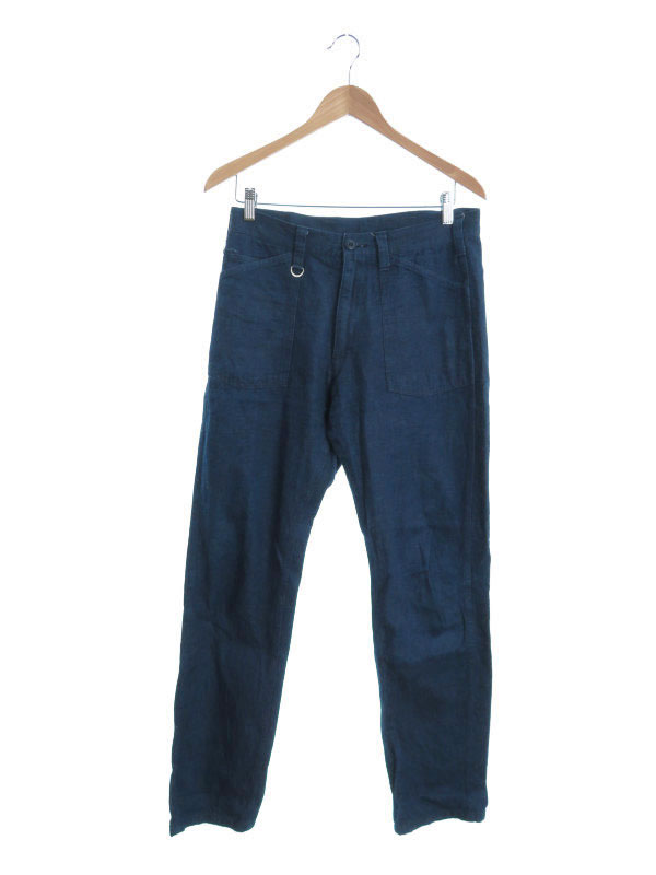 【uniform experiment】【日本製】【ririジッパー】ユニフォームエクスペリメント『ジーンズ size1』UE-156065 メンズ デニムパンツ 1週間保証【中古】
