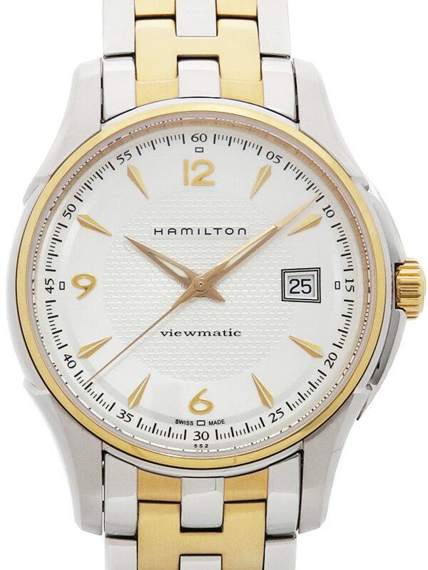 【HAMILTON】【裏スケ】ハミルトン『ジャズマスター ビューマチック』H32525155 メンズ 自動巻き 1ヶ月保証【中古】