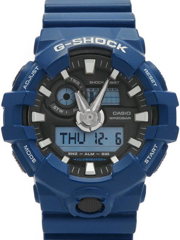 【CASIO】【G-SHOCK】カシオ『Gショック』GA-700-2A メンズ クォーツ 1週間保証【中古】