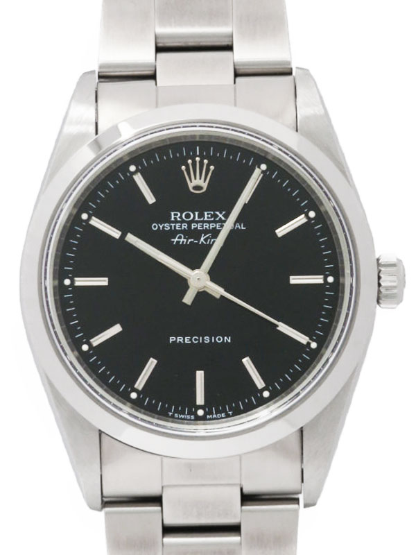 【ROLEX】ロレックス『エアキング』14000 U番'97年頃製 メンズ 自動巻き 12ヶ月保証【中古】