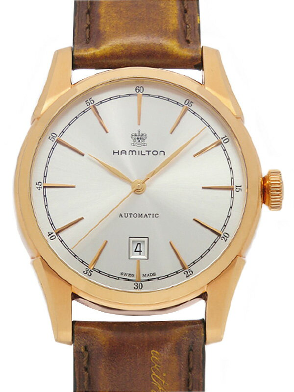 【HAMILTON】【裏スケ】ハミルトン『ジャズマスター スピリットオブリバティ』H42445551 メンズ 自動巻き 1ヶ月保証【中古】