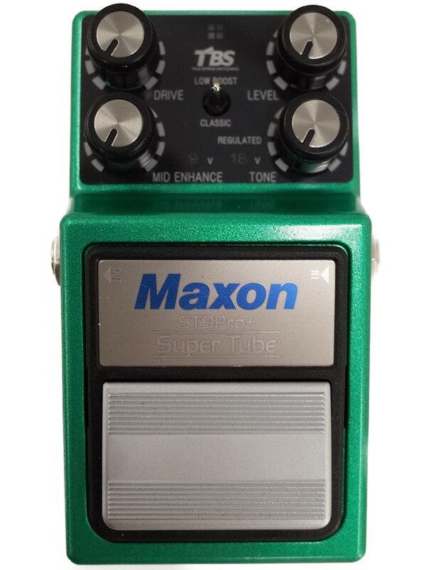 【Maxon】マクソン『オーバードライブ』ST9 Pro+ コンパクトエフェクター 1週間保証【中古】