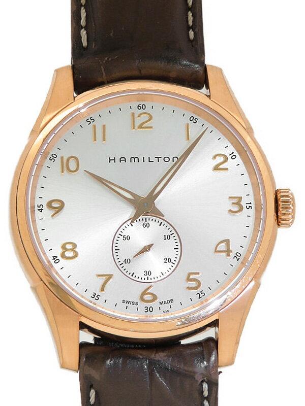 【HAMILTON】ハミルトン『ジャズマスター シンライン スモールセコンド』H38441553 メンズ クォーツ 1週間保証【中古】