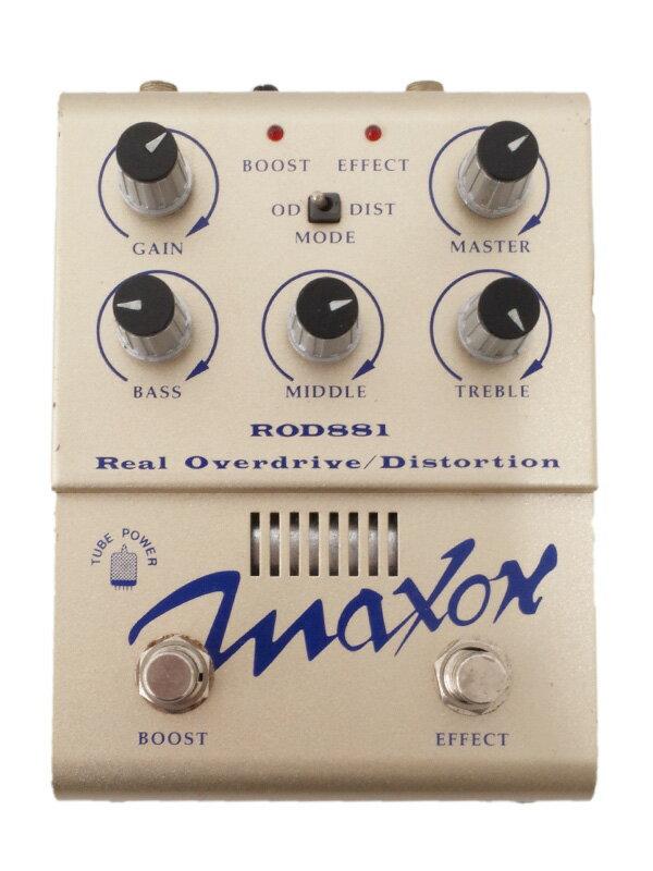 【Maxon】マクソン『オーバードライブ ディストーション』ROD881 エフェクター 1週間保証【中古】
