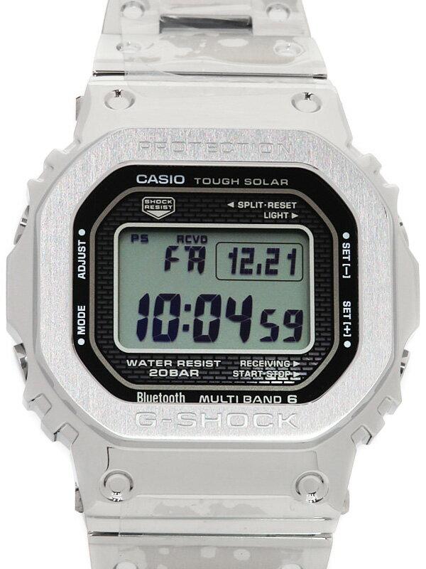 【CASIO】【G-SHOCK】【美品】カシオ『Gショック』GMW-B5000D-1JF ボーイズ ソーラー電波クォーツ 1ヶ月保証【中古】