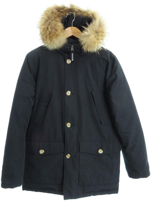 【WOOLRICH】【ARCTIC PARKA】【アークティックパーカ】【アウター】ウールリッチ『ダウンジャケット size16』メンズ 1週間保証【中古】