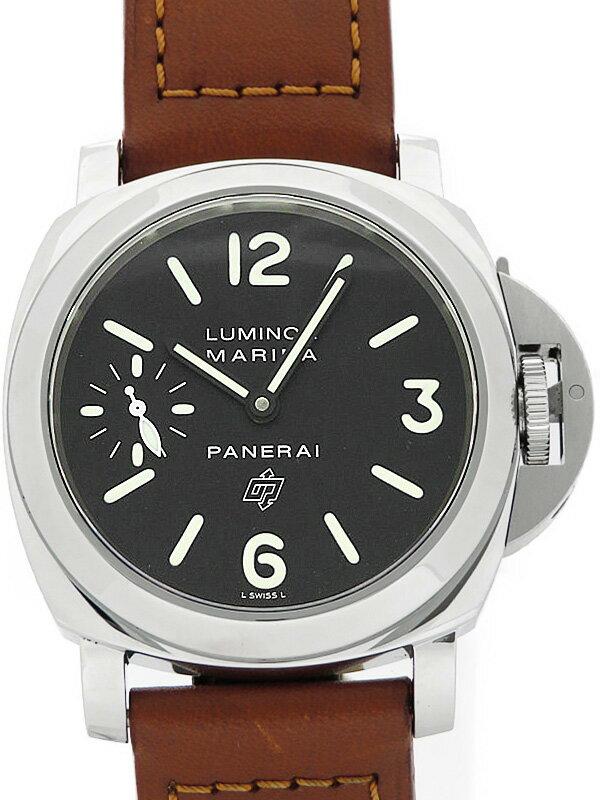 【PANERAI】【仕上済】パネライ『ルミノール マリーナ ロゴ 44mm』PAM00005 G番 '04年製 メンズ 手巻き 6ヶ月保証【中古】
