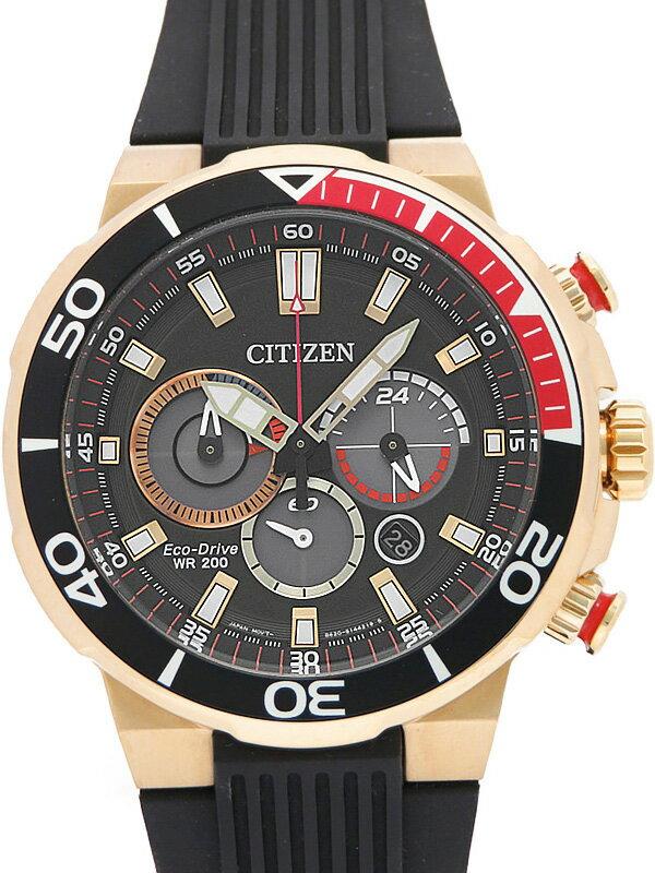 【CITIZEN】【海外モデル】シチズン『エコドライブ クロノグラフ』CA4252-08E メンズ ソーラークォーツ 1週間保証【中古】