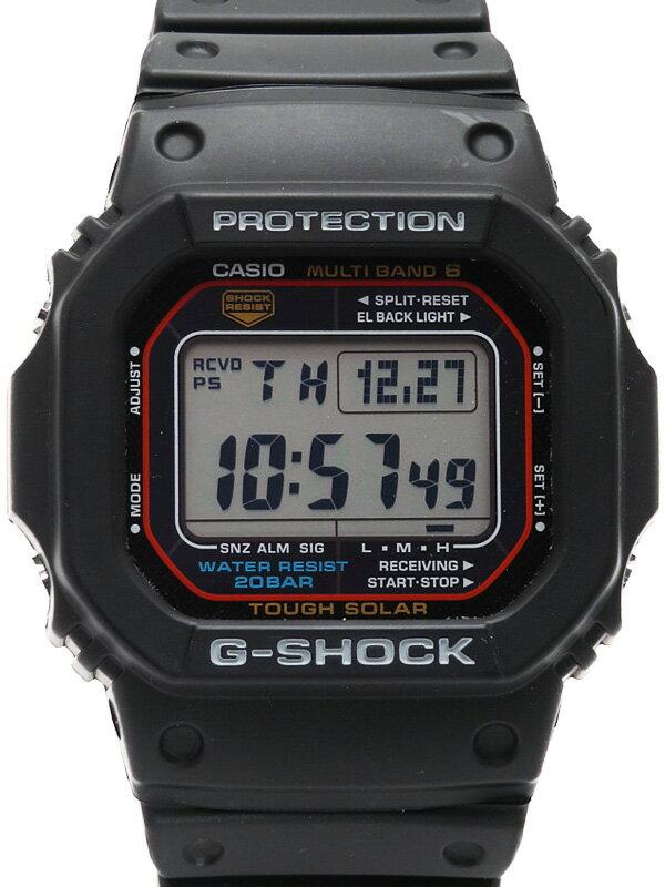 【CASIO】【G-SHOCK】カシオ『Gショック』GW-M5610-1 ボーイズ ソーラー電波クォーツ 1週間保証【中古】