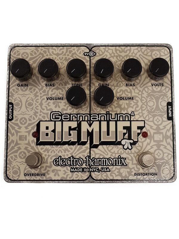 【electro-harmonix】エレクトロハーモニックス『オーバードライブ・ディストーション』Germanium BIG MUFF エフェクター 1週間保証【中古】