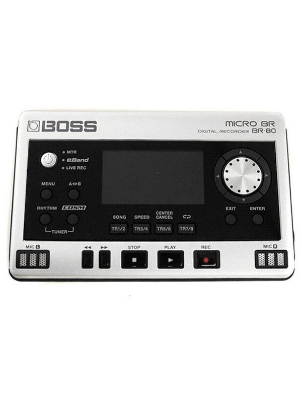 【BOSS】ボス『デジタルレコーダー』BR-80 MICRO BR 1週間保証【中古】