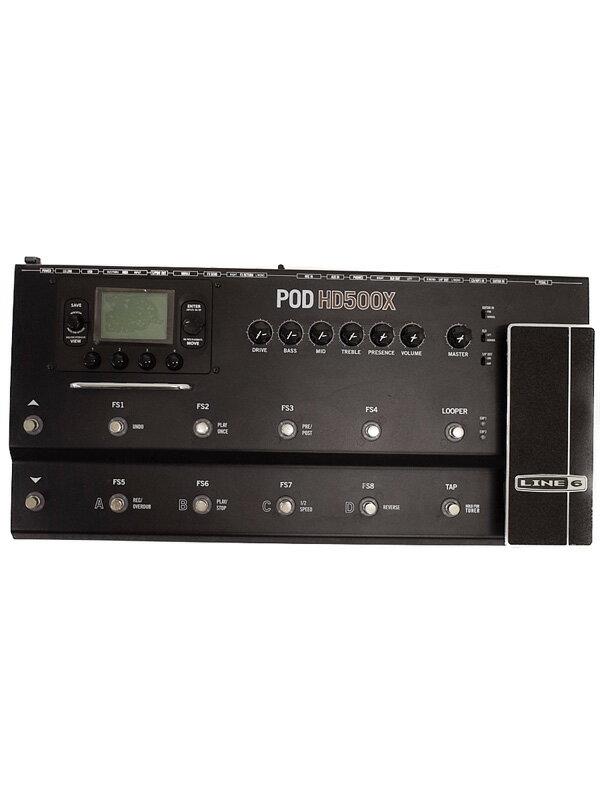 【LINE6】ライン6『アンプシミュレーター』POD HD500X エフェクター 1週間保証【中古】