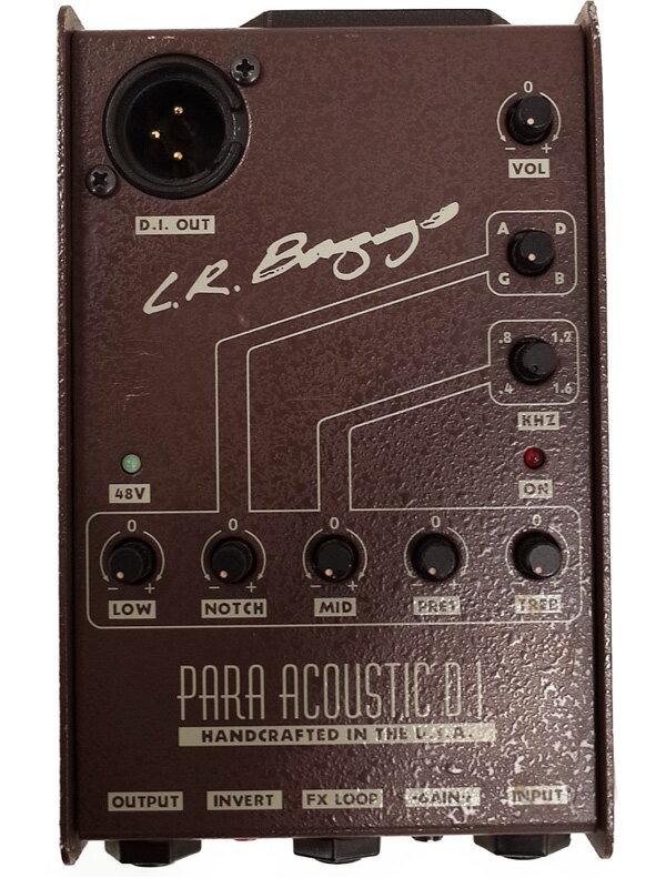 【L.R.BAGGS】エルアールバッグス『アコギ用DI』PARA Acoustic D.I. エフェクター 1週間保証【中古】