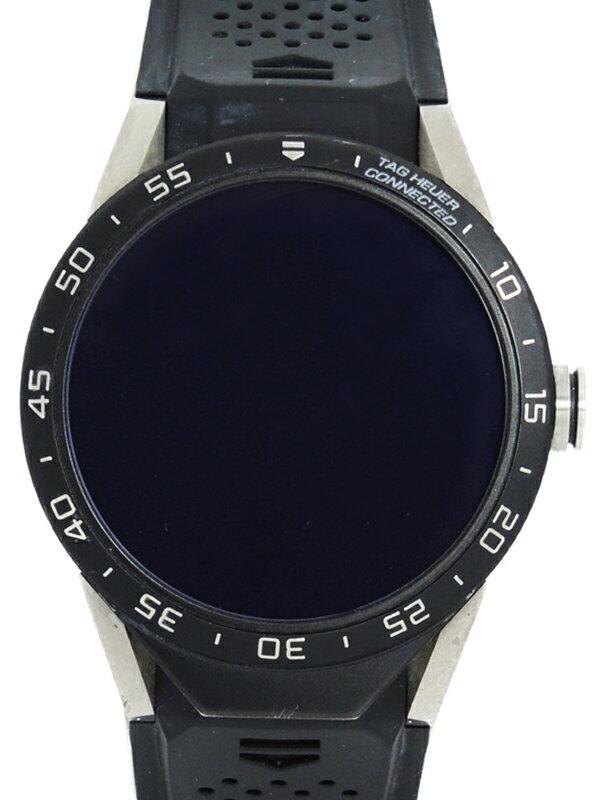 【TAG Heuer】タグホイヤー『コネクテッドウォッチ』SAR8A80.FT6045 メンズ スマートウォッチ 1週間保証【中古】