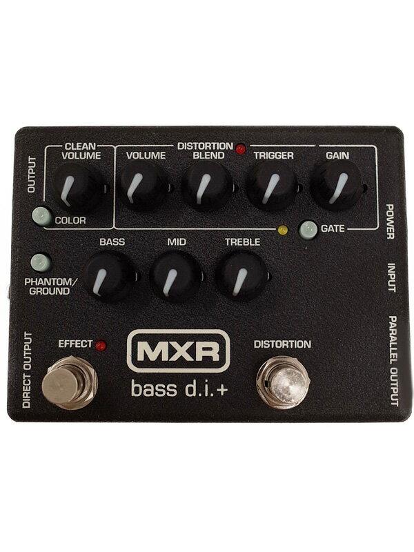 【MXR】エムエックスアール『ベース用プリアンプ』Bass d.i.+ エフェクター 1週間保証【中古】