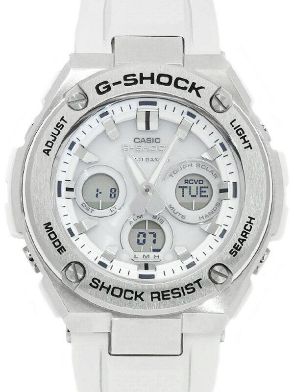 【CASIO】【G-SHOCK】カシオ『Gショック Gスチール』GST-W310-7AJF メンズ ソーラー電波クォーツ 1週間保証【中古】