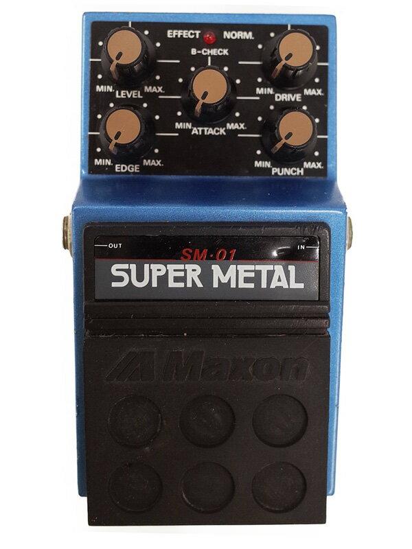 【Maxon】マクソン『スーパーメタル』SM-01 コンパクトエフェクター 1週間保証【中古】