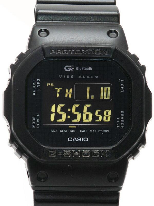 【CASIO】【G-SHOCK】【モバイルリンク】カシオ『Gショック Bluetooth対応』GB-5600B-1B ボーイズ クォーツ 1週間保証【中古】