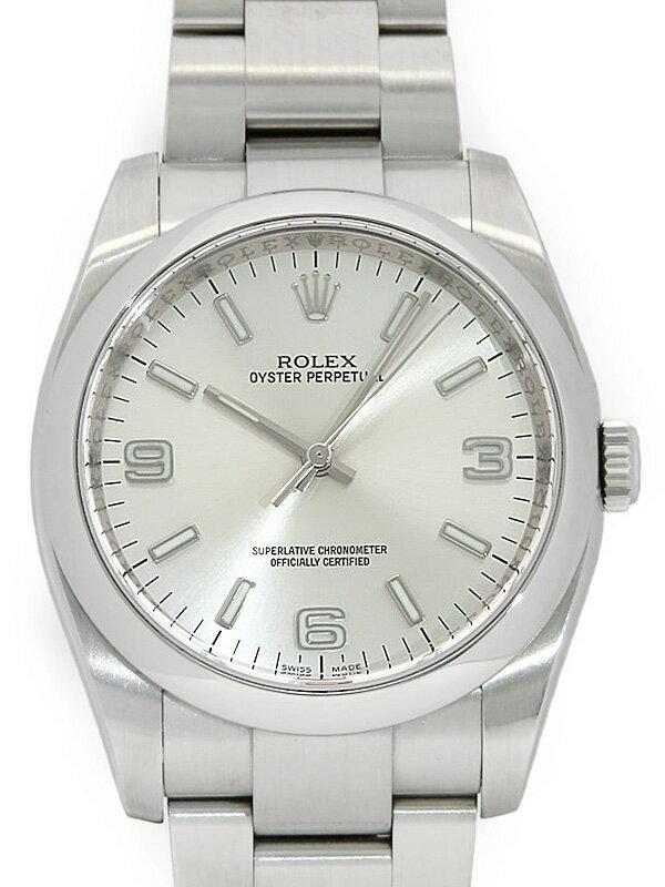 【ROLEX】【'14年購入】【仕上済】ロレックス『オイスターパーペチュアル』116000 ランダム番 メンズ 自動巻き 12ヶ月保証【中古】
