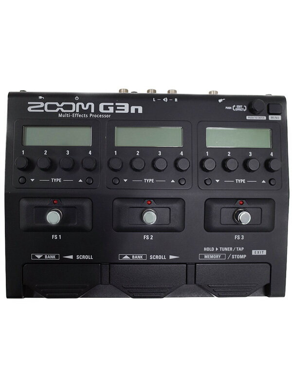 【ZOOM】ズーム『マルチエフェクター』G3n Ver1.10 1週間保証【中古】