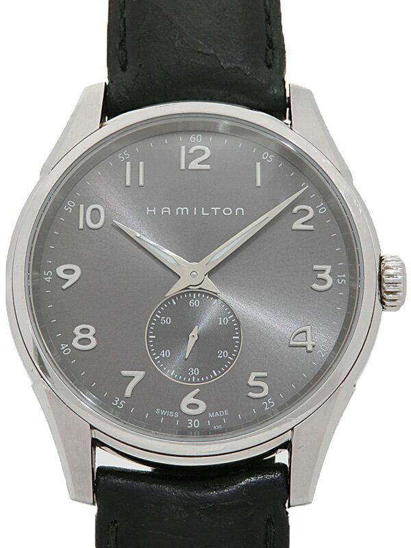 【HAMILTON】【電池交換済】ハミルトン『ジャズマスター シンライン』H38411783 メンズ クォーツ 1週間保証【中古】