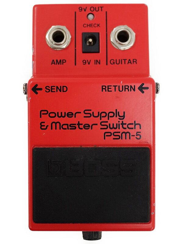 【BOSS】ボス『パワーサプライ』PSM-5 コンパクトエフェクター 1週間保証【中古】