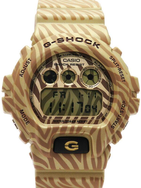 【CASIO】【G-SHOCK】カシオ『Gショック ゼブラカモフラージュシリーズ』DW-6900ZB-9 メンズ クォーツ 1週間保証【中古】