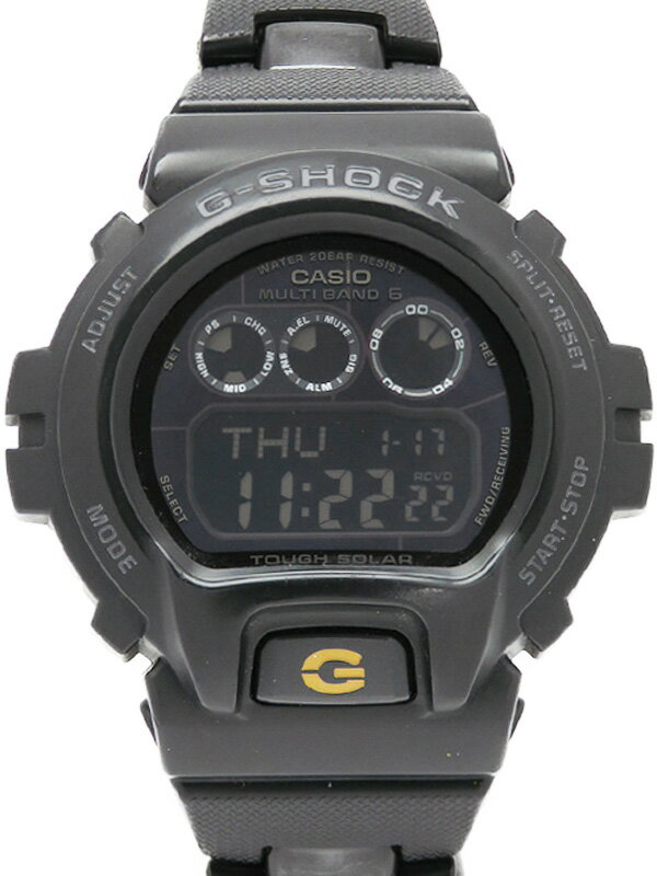 【CASIO】【G-SHOCK】カシオ『Gショック』GW-6900BC-1 メンズ ソーラー電波クォーツ 1週間保証【中古】